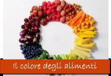 Il colore degli alimenti
