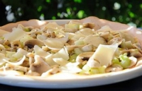 Arrosto di tacchino con champignon
