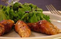 Involtini pollo e prosciutto