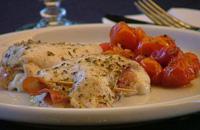 Involtini di pollo al forno con pomodorini