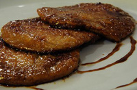 Scaloppine all'aceto balsamico